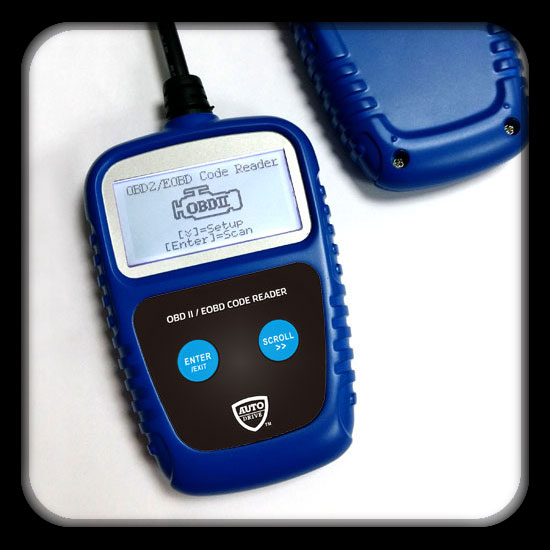 "Blue/Black/Orange Color, Determines Cause of ""Check Engine Light"", Use with All 1996 and newer OBDII Compliant Vehicles, No Batteries Required"