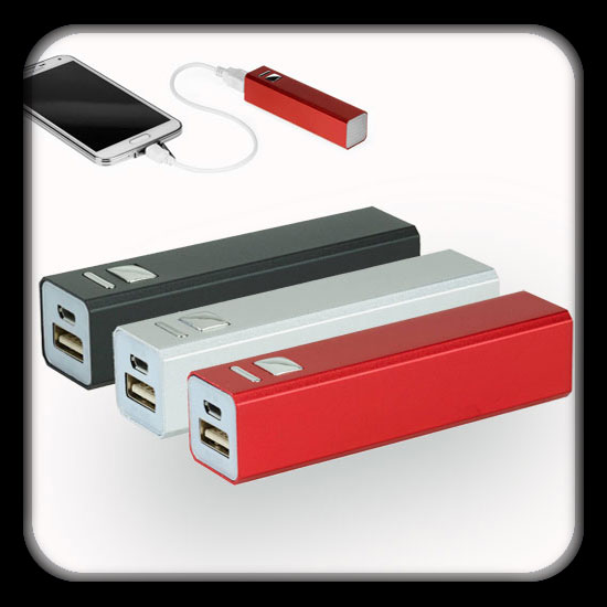 Black/Silver/Red Color, 2200mAh Capacity, Lithium-ion Rechargeable Battery, Dimension:92x22x22MM